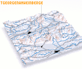 3d view of Sankt Georgen am Weinberge