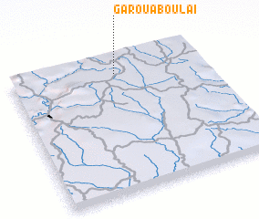 Garoua Boula Cameroon map nonanet