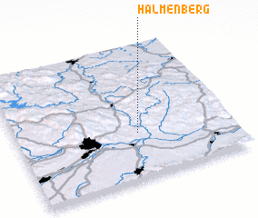 3d view of Halmenberg