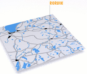 3d view of Rörvik
