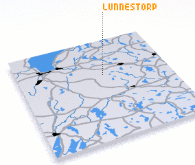 3d view of Lunnestorp