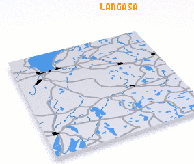 3d view of Långåsa