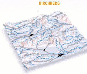 3d view of Kirchberg