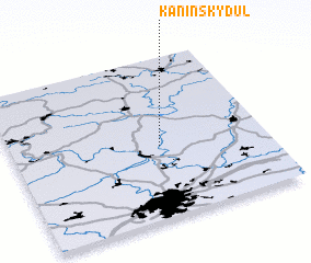 3d view of Kaninský Dŭl