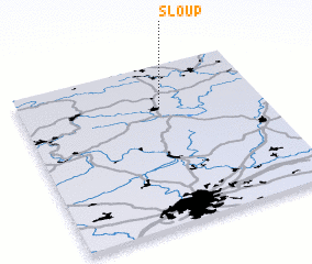 3d view of Sloup
