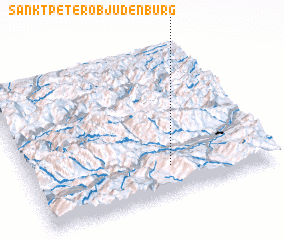 3d view of Sankt Peter ob Judenburg