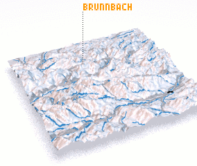 3d view of Brunnbach
