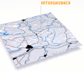 3d view of Untergaisbach