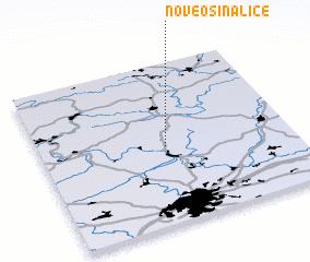 3d view of Nové Osinalice