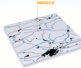 3d view of Manušice