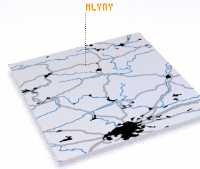 3d view of Mlýny