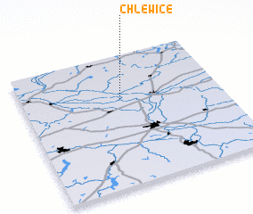3d view of Chlewice