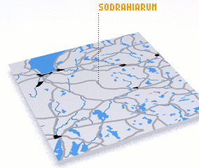 3d view of Södra Hiarum