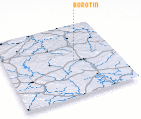 3d view of Borotín