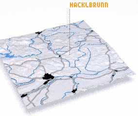 3d view of Hacklbrunn