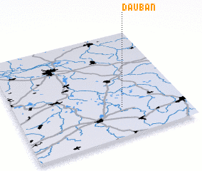 3d view of Dauban