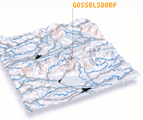 3d view of Gösselsdorf