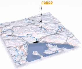 3d view of Čabar