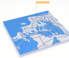 3d view of Kororak