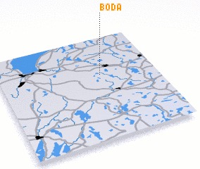 3d view of Boda