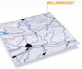 3d view of Hellmannsedt