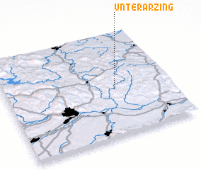 3d view of Unterarzing