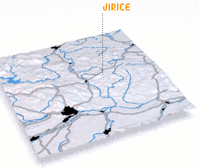 3d view of Jiřice
