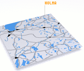 3d view of Holma