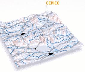 3d view of Čepiče