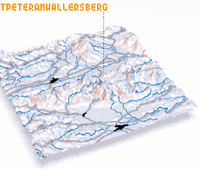 3d view of Sankt Peter am Wallersberg