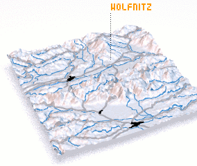 3d view of Wölfnitz