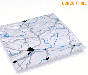 3d view of Lunzenthal