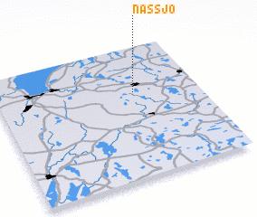 3d view of Nässjö