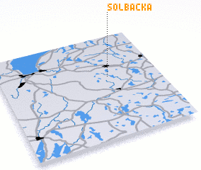 3d view of Solbacka