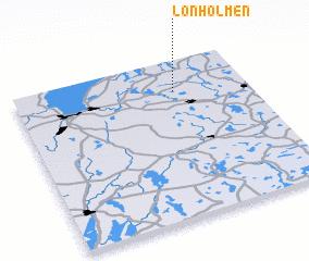 3d view of Lönholmen