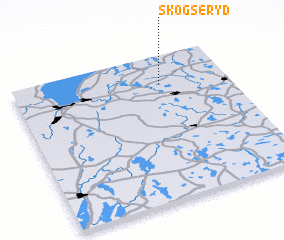 3d view of Skogseryd