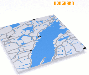 3d view of Borghamn