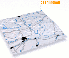 3d view of Oberwagram