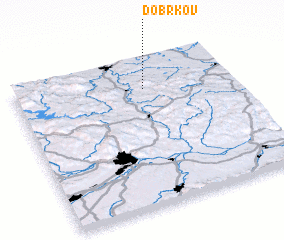 3d view of Dobrkov