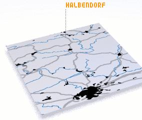 3d view of Halbendorf