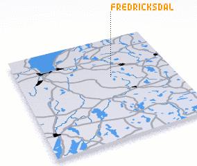 3d view of Fredricksdal
