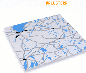 3d view of Vallstorp