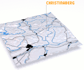 3d view of Christinaberg
