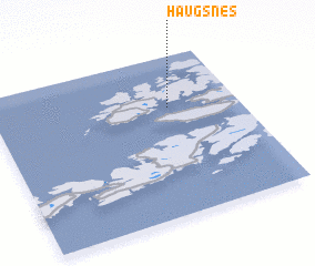 3d view of Haugsnes