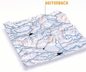3d view of Weitenbach