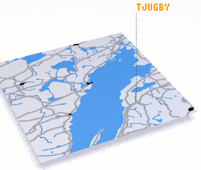3d view of Tjugby