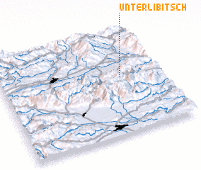 3d view of Unterlibitsch