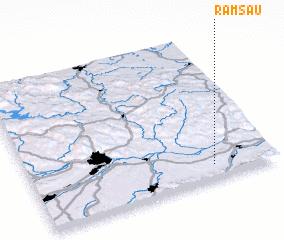 3d view of Ramsau