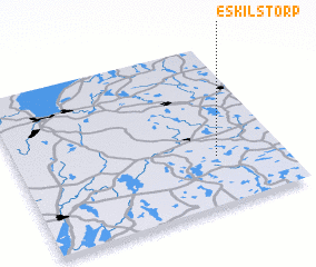 3d view of Eskilstorp