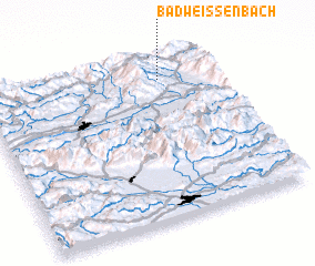 3d view of Bad Weißenbach